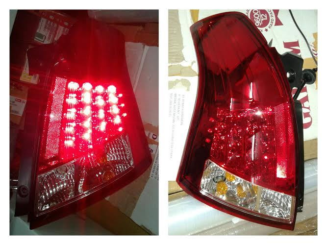 ASZ093-BERE2 Stoplamp Suzuki Swift 04-11 LED Crystal Clear Red (RTF)