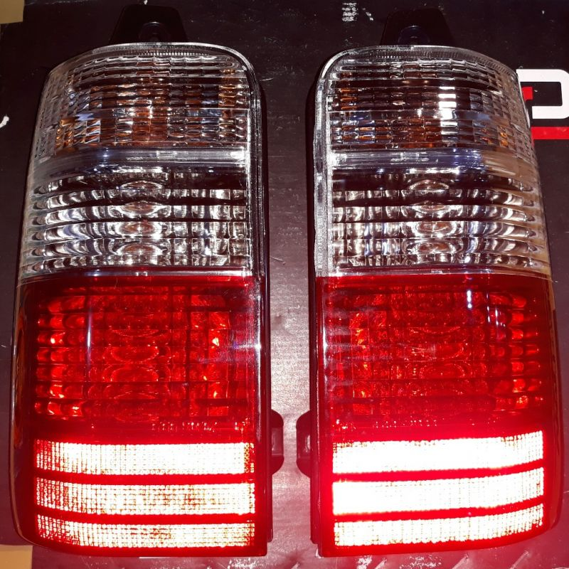 SLKJ-2003 Stoplamp Kijang Kapsul/ Kijang EFI 1997 sd 2004 Crystal Red Clear (Rev)