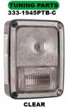333-1945PTB-C Stoplamp Jeep Wrangler 207 07-13 Crystal Clear (RTF)