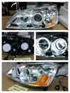 AHD411-B0BCA Headlamp Civic 01-04 Projector Angel Eyes Crystal Chrome US Style (RTF)