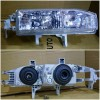217-1113-RD Headlamp Accord Maestro 1990 sd 1991 Crystal Chrome (Kaca Tebel) (Revs)