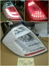 SK1700WHH Stoplamp Honda Jazz GE8 08 sd 14 LED dan LED Bar Sequential Sign White Housing (Revs)