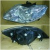 217-1158-L-E Headlamp Honda City 05-07 Crystal Chrome (Rev)