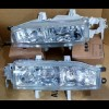 217-1114 Headlamp Accord Maestro 92-93 Crystal Chrome KACA (Revs)