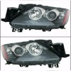 316-1136-US7 Headlamp Mazda CX-7 2007 sd 2012 Projector US Style (RTF)