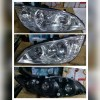 217-1146-RD-E Headlamp Honda Civic Facelift 04-05 Crystal Chrome (Rev)