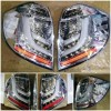 SK1700CRM Stoplamp Honda Jazz GE8 08-14 LED dan LED Bar Chrome Housing (RTF)