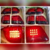 ATY880-B0DE4 Stoplamp Fortuner 2004 sd 2010 LED Red Smoke Lens (Revs)