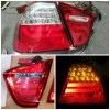 ABM100-BERE4-3V Stoplamp BMW 3 Series E90 4D 05-08 LED Clear Red (Rev)