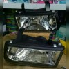213-1127-RD Headlamp Isuzu Panther 00-04 Crystal Chrome (Rev)