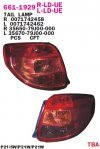 661-1929-LD-UE Stoplamp SX4 06-11 Crystal Red