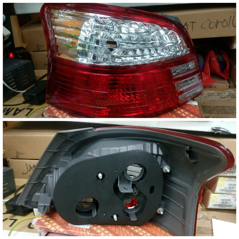 11-B810-01-6B Stoplamp Vios 07-12 Crystal Red (RTF)