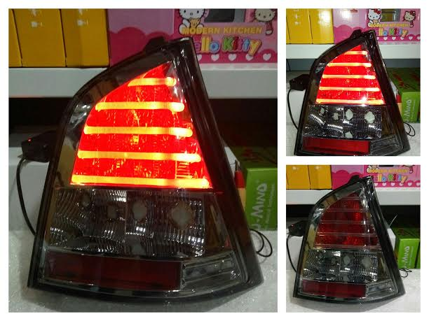 ADS693-B7SE2 Stoplamp Nissan Livina 07-12 LED Crystal All Smoke (RTF)