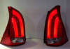 YAB-AZ-0220-RSM Stoplamp Avanza Xenia Veloz 12-Onward LED Bar Crystal Red Smoke (RTF)