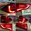 YAB-PJ-0180RS Stoplamp Pajero Sport LED & LED Bar Red Smoke (RTF)