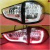 AMB368-B7WE4 Stoplamp Pajero Sport 09-14 LED Chrome Housing Clear Lens Clear Lens (Revs)