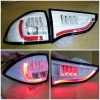 AMB368-B7WW4-RB Stoplamp Pajero Sport 09-14 LED Bar Red Strip White Housing (Revs)