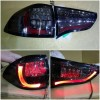 AMB368-B7SE4-RB Stoplamp Pajero Sport 09-14 LED Bar Red Strip All Smoke Lens (Revs)