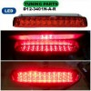 D12-3401N-A-R Third Brake Lamp Toyota Alphard 02-07 LED Crystal Red (RTF)