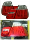 ABM107-BERE4 Stoplamp BMW 3 Series E46 98-01 LED Clear Red (Revs)