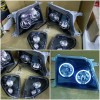 ATY868-B70HW-BH869D Headlamp with Corner Landcruiser Prado FJ90 98-04 Angel Eyes Black Housing (Rev)