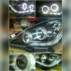 ATY1174 Headlamp Innova 04-11 Projector LED Starline Angel Eyes Crystal Black with Starline (Revs)