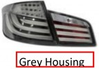 444-1957F-AE-C Stoplamp BMW 5 Series F10 2009 - Onward LED & LED Bar Grey Housing (Revs)