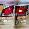 11-B469/17-A249 Stoplamp Civic FD 2006 sd 2011 Crystal Red Clear 4 PCs (Revs)