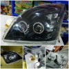 TY994-B7WHW-B2H Headlamp Prado FJ120 03-08 Projector Angel Eyes LED Starline Black Housing (RTF)