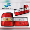 444-1927FXAE Stoplamp BMW 5 Series E34 88-96 LED Crystal Red (RTF)