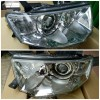 214-1197-RD-EM Headlamp Pajero Sport 09-14 Projector Crystal Chrome (Revs)