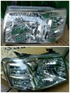 231-1135-RD-E Headlamp Ford Ranger 06-08 Crystal Chrome (Rev)