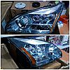 D24-1102P-RDBM3 Headlamp Lexus RX330 2004-2012 Projector Blue Chrome Housing